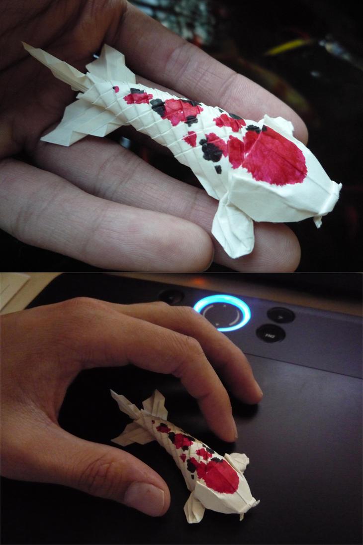 Origami Koi 2 by Richi89 on DeviantArt