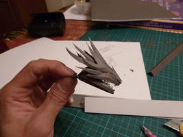 Dragon Head WIP by Richi89