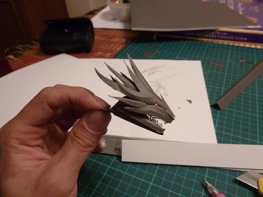 Dragon Head WIP By Richi89 On DeviantArt