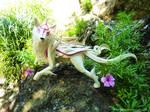 Okami Amaterasu in Nature by Richi89
