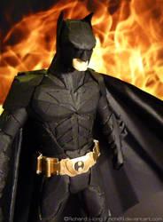 Paper Batman Close Up by Richi89