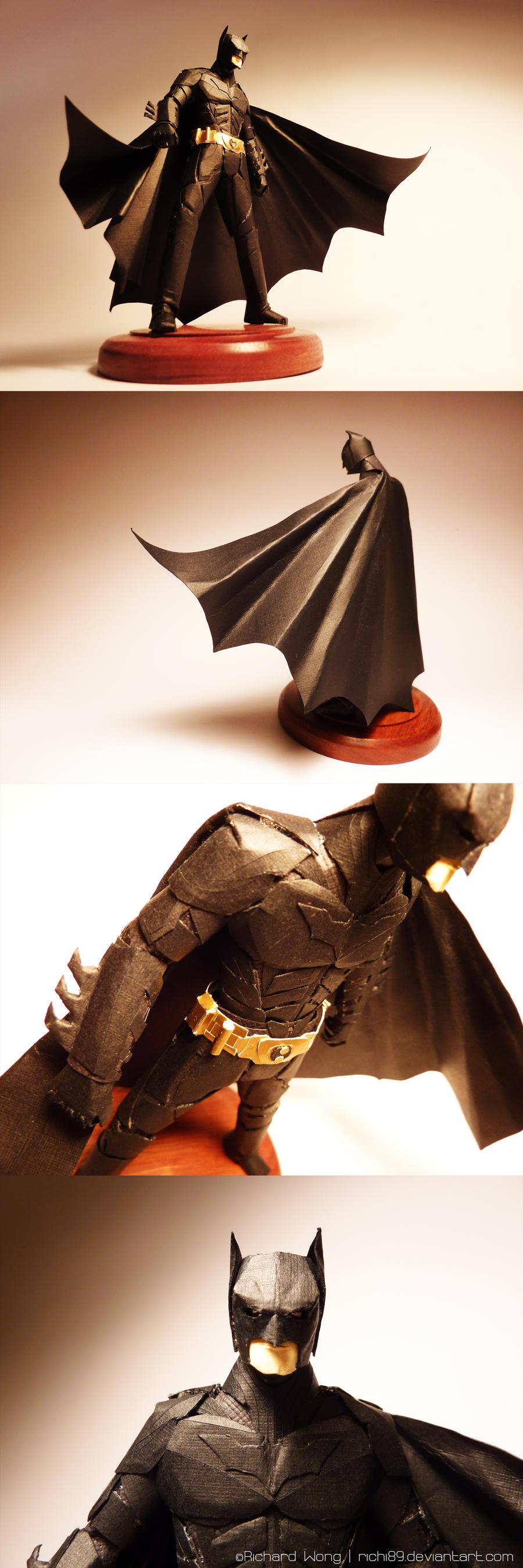 Batman Paper Sculpture