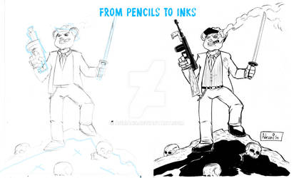Pencils to Inks