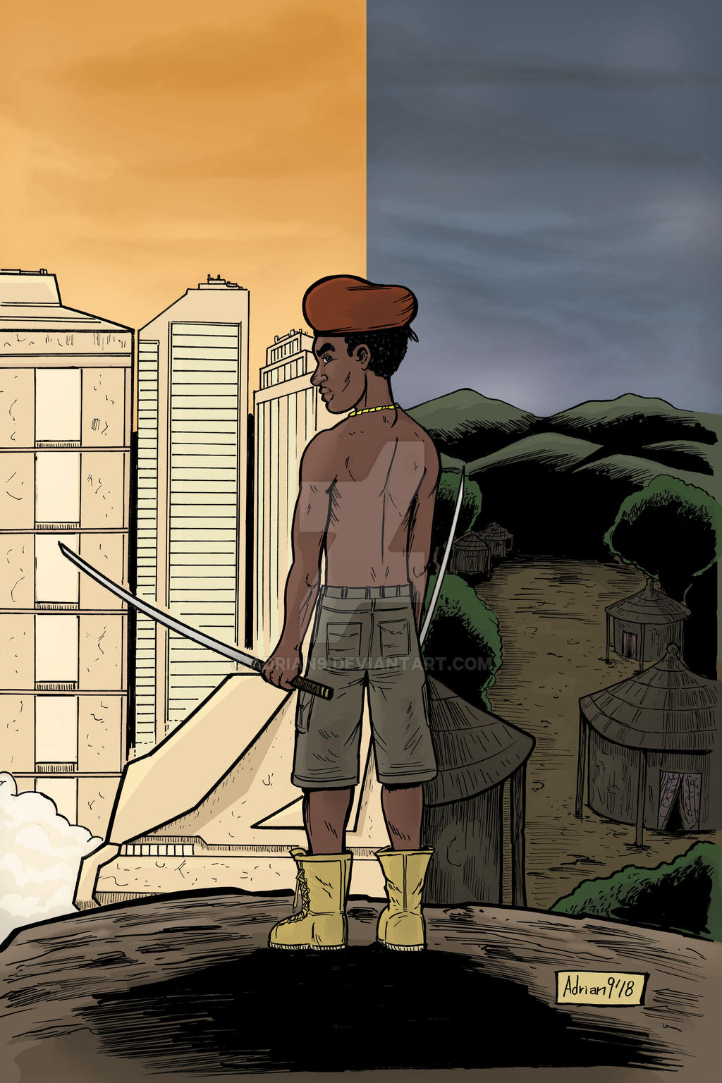 Izu 1 cover by ADRIAN9