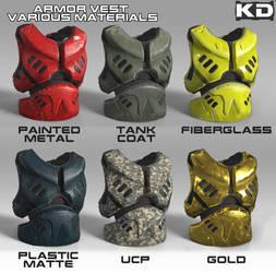 Armor Vest Material Variation