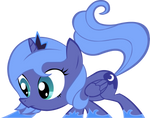 Young Luna Vector