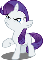 Cross Filly Rarity Vector by Alexstrazse