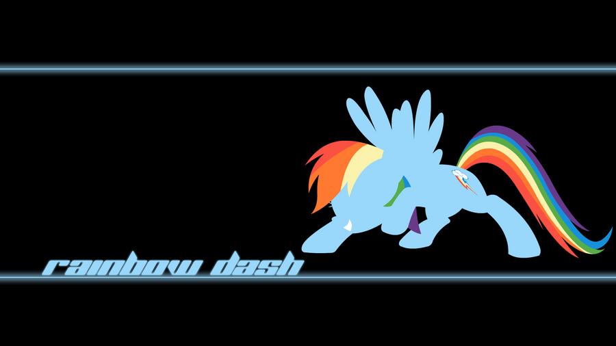 Rainbow Dash Wallpaper by Alexstrazse