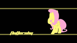 Fluttershy Wallpaper by Alexstrazse