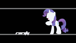 Rarity Wallpaper by Alexstrazse