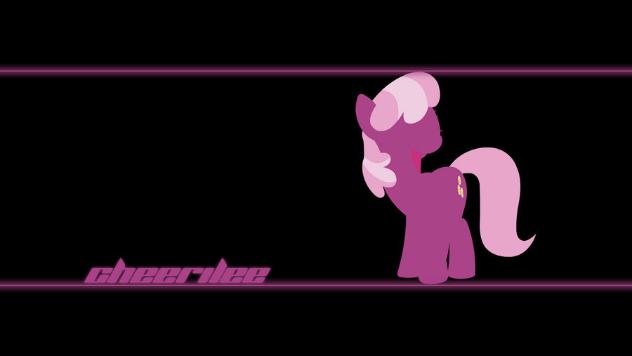 Cheerilee Wallpaper by Alexstrazse