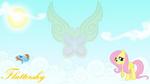Fluttershy in the Sky