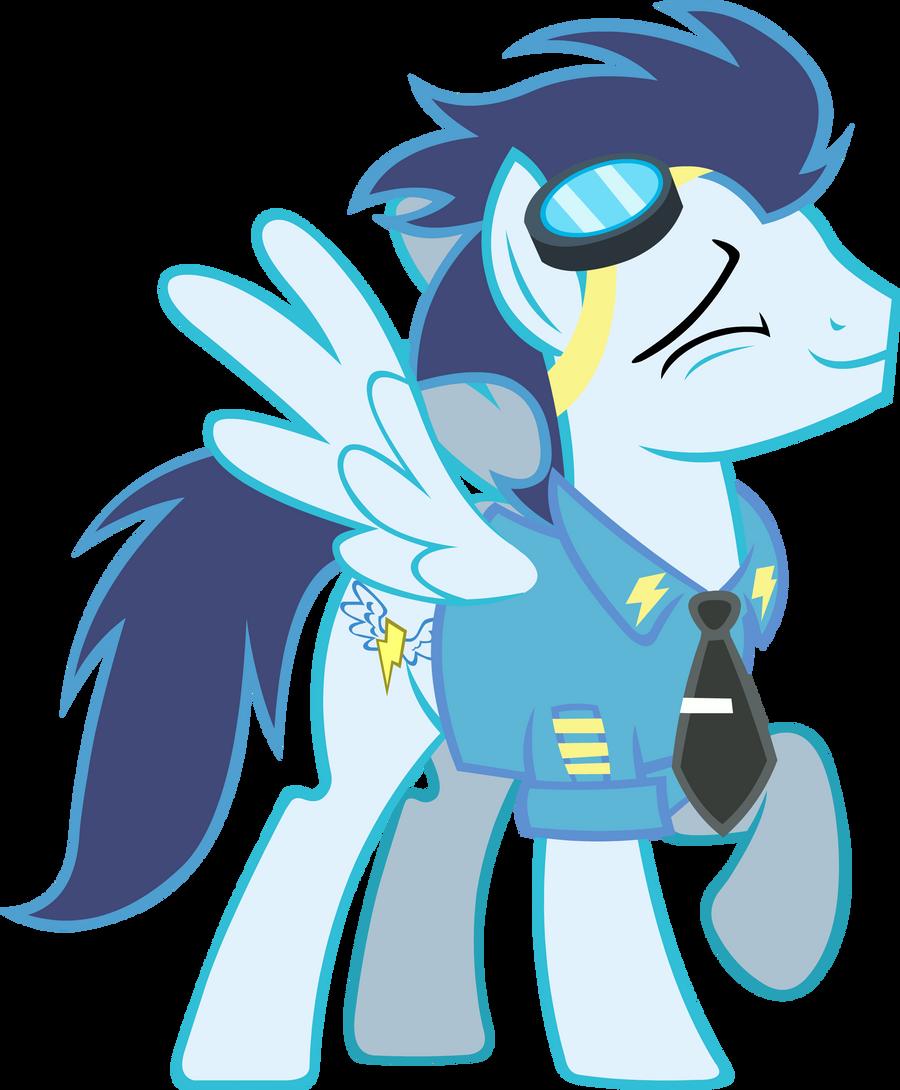 Officer Soarin' by Alexstrazse