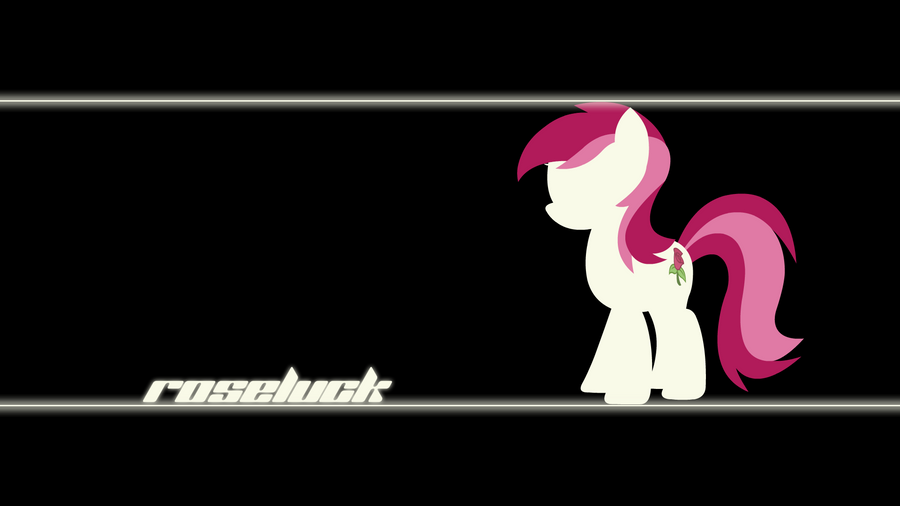 Roseluck Wallpaper by Alexstrazse