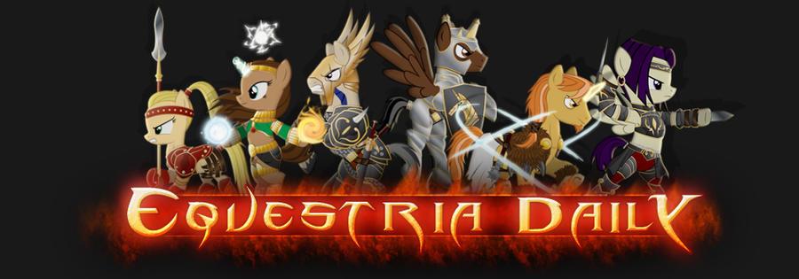 Equestria Daily Diablo Banner by Alexstrazse