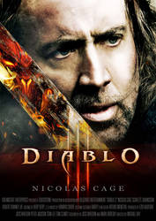 Diablo 3 Movie Poster by Alexstrazse