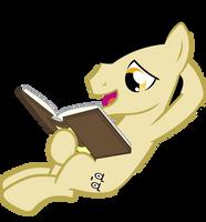 Having A Read by Alexstrazse