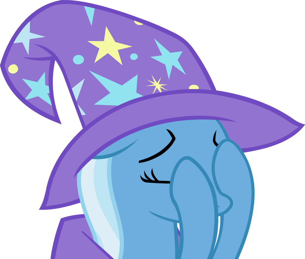 Trixie's Double Facehoof by Alexstrazse