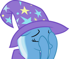 Trixie's Double Facehoof