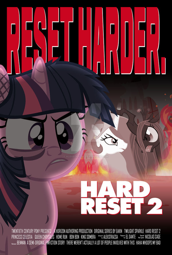 Commission - Hard Reset 2: Reset Harder Cover