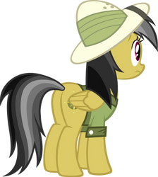 Daring Do Looking Back