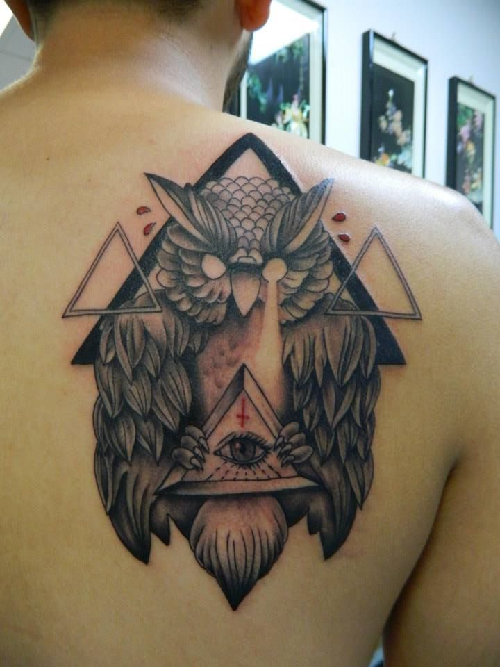 illuminati owl tattoo wwwimgkidcom the image kid has it