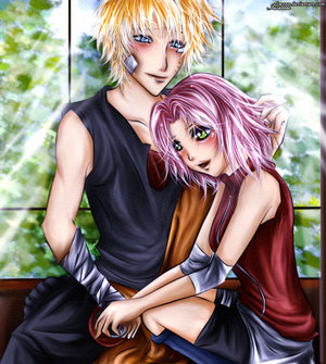 NaruSaku: I'll look after you by SD-love