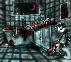 Johnny The Homicidal Maniac by hellstr0m