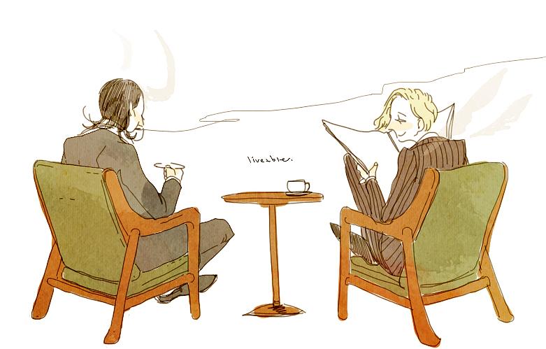 Loki and Gabriel by dldls902