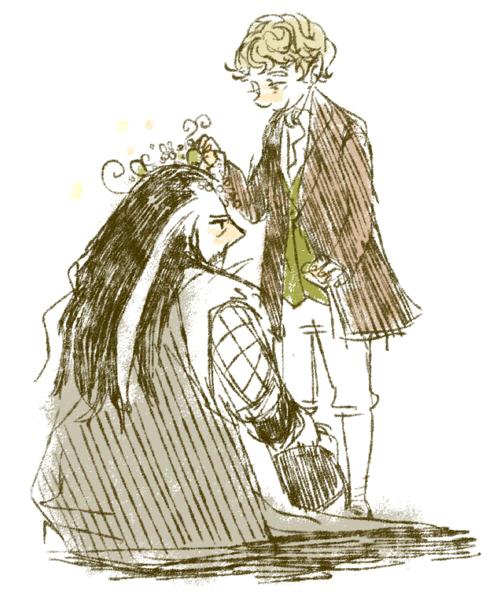 Thorin x Bilbo by dldls902