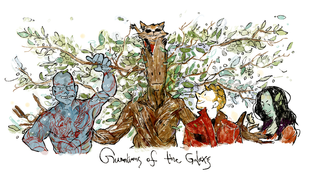 guardians of the galaxy by dugonism on DeviantArt