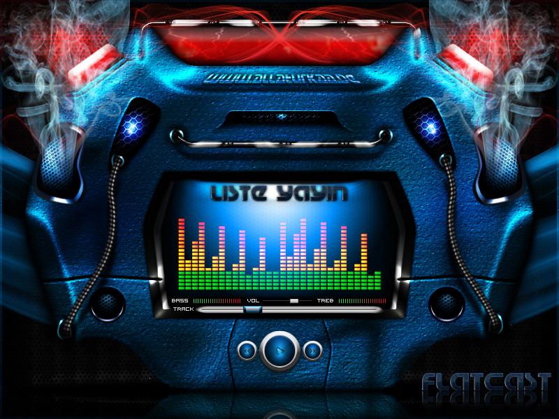 Flatcast Radio Theme : 024 by YoRqUn on DeviantArt