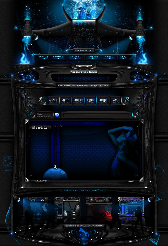 BLuE MeTeOR Web Template by YoRqUn on DeviantArt