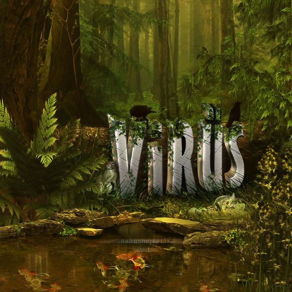 ViRuS 3D Text Manipulasyon by YoRqUn