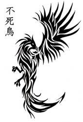 Phoenix tatoo by Bleckhart