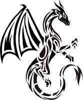 Dragon tattoo by Bleckhart