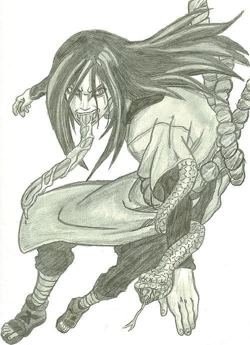 Orochimaru by D1ckBasterdly