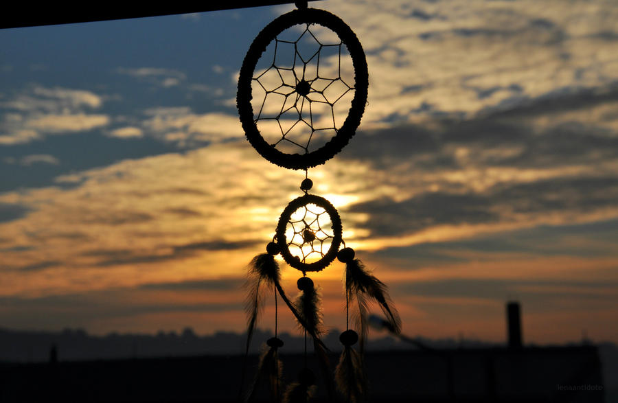 Dreamcatcher/Sunset by LenaAntidote on DeviantArt