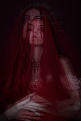 Red Widow by vanillabloodart