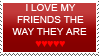 X_Pwned Genre totalement ~ FRIENDS_STAMP_by_emo_city