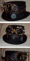 Steampunk Top Hat by ajldesign
