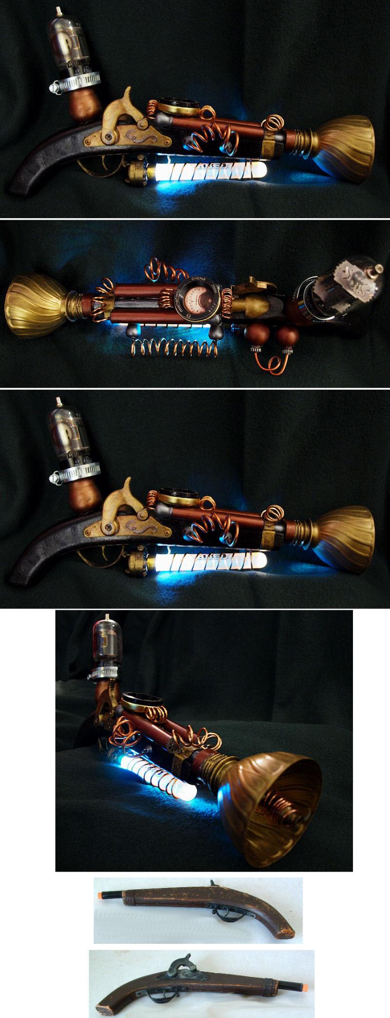 Steampunk Ray Gun by ajldesign