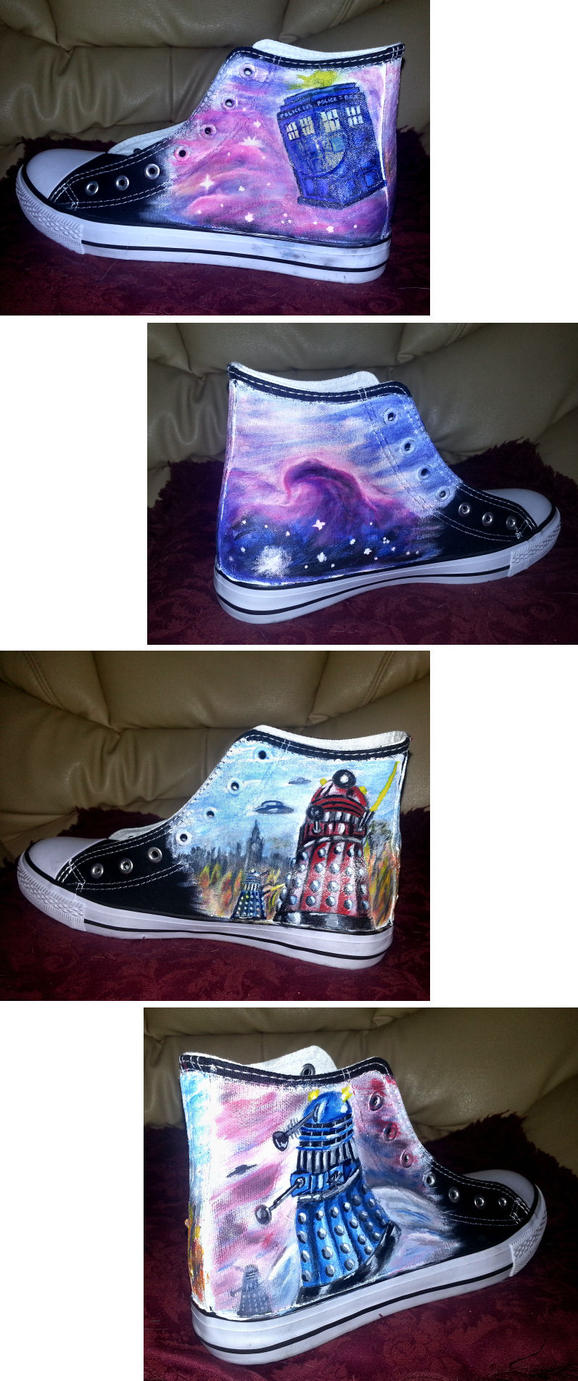 Doctor Who Sneakers by ajldesign