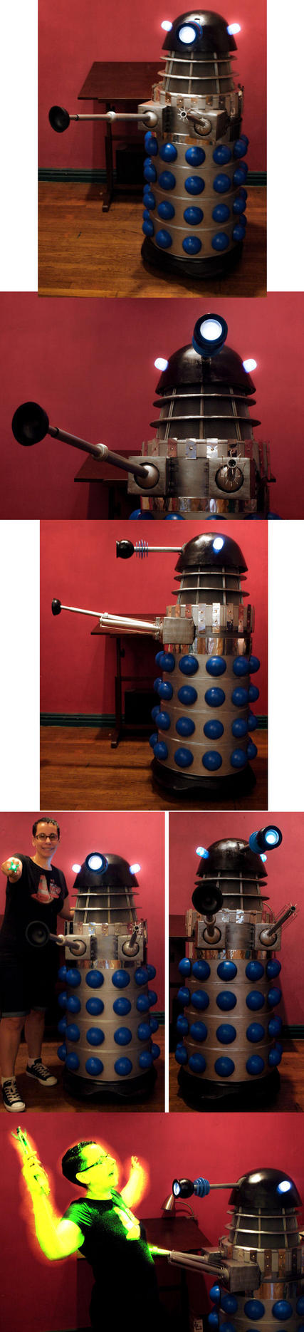 Finished Dalek by ajldesign