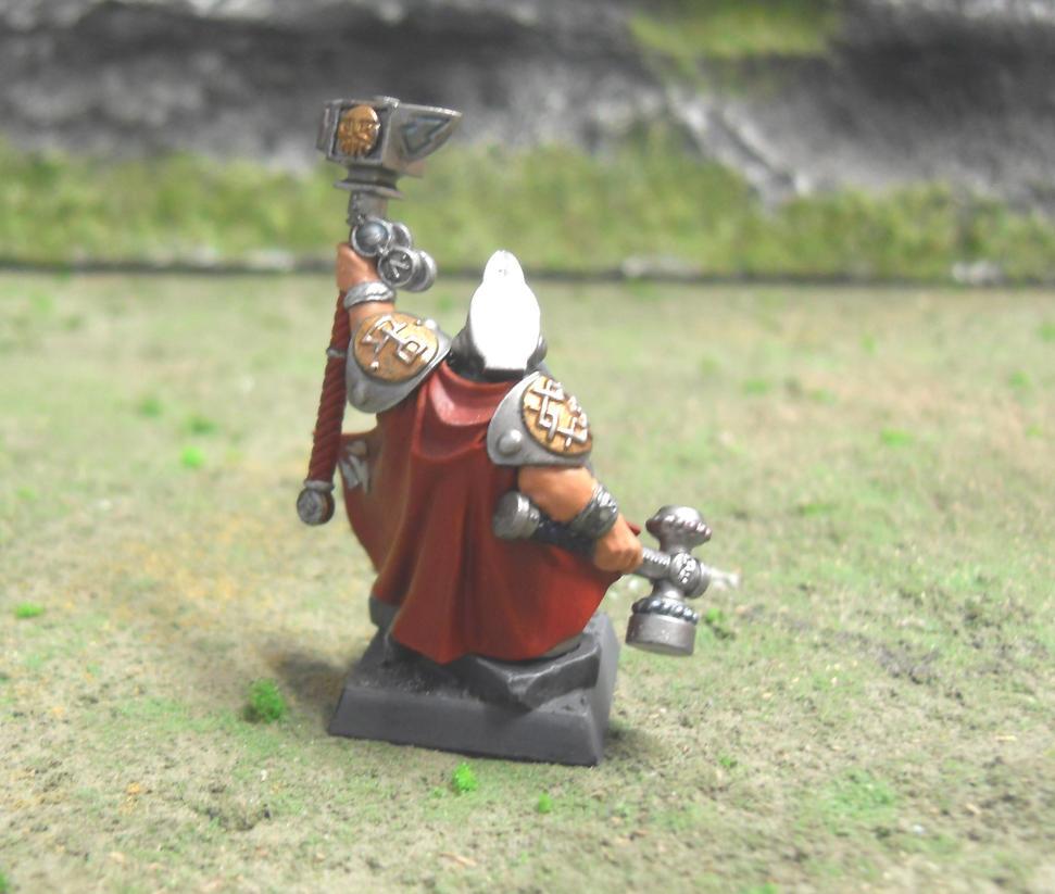 Warhammer Dwarf RuneLord Thorin Big Beard by SirPerryBerry