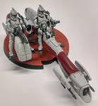 Star Wars Legion: BARC Speeder by SirPerryBerry