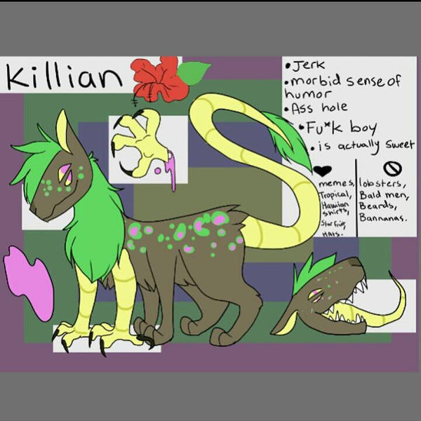 Reference sheet for my oc :) by stargrains