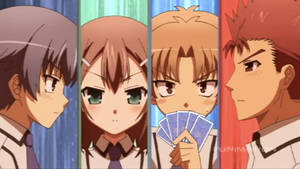 Baka and Test the four Guys by janzram