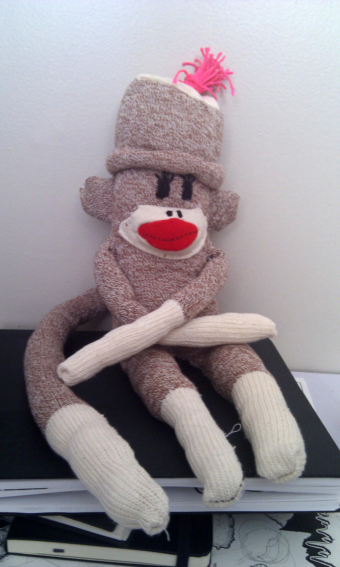 Uncle Gabby Sock Monkey by super-rick
