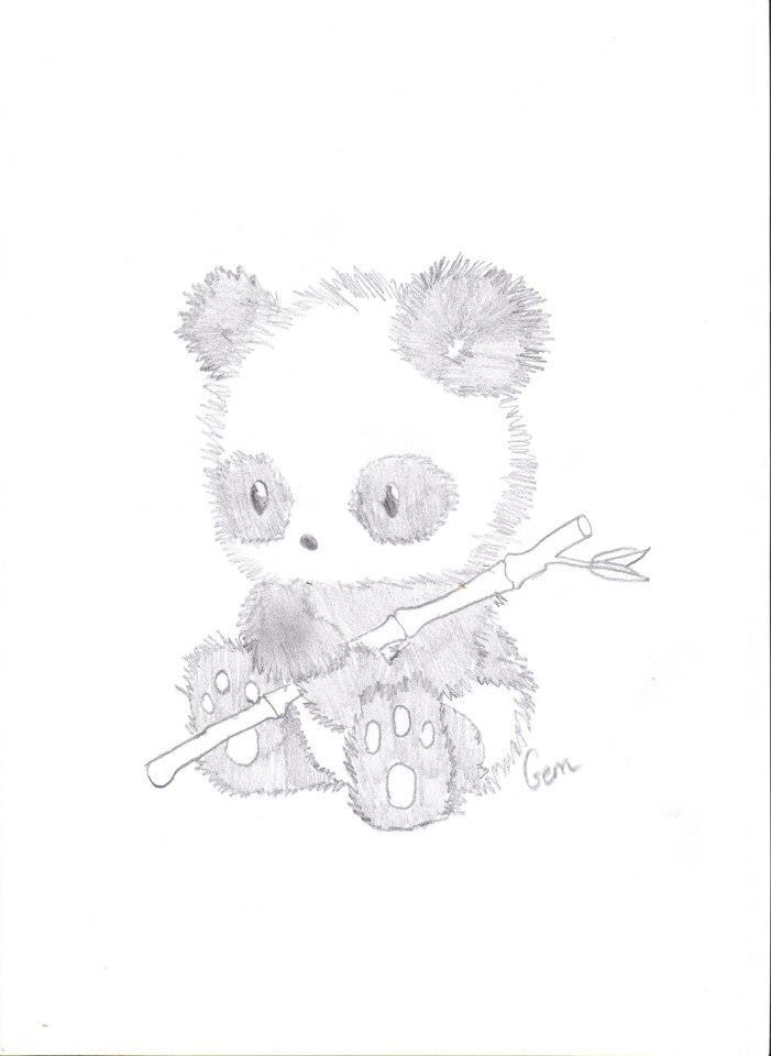 Baby Panda by gemgembo